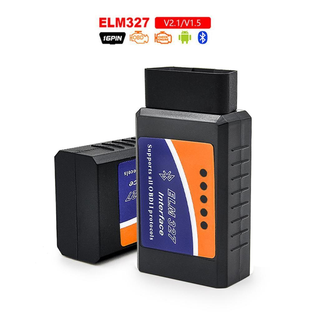 스캐너 OBD 2 미니 ELM327 V2.1 블루투스 OBD2 ELM 327 BT V2.1 OBD2 자동차 진단 도구 ELM327 OBDII 어댑터 자동 도구
