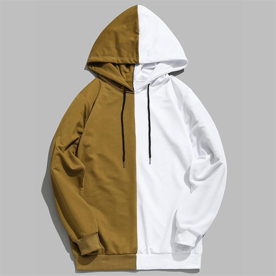 Зимняя мода Мужчины руно Толстовки с капюшоном Бодибилдинг Hoodie вскользь Верхняя одежда мужская с длинным рукавом Спортивные костюмы Streetwear # 722