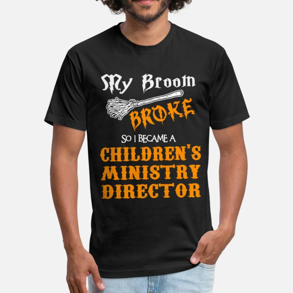 Çocuk Bakanlığı Direktörü t gömlek erkekler Kısa Kollu Yuvarlak Yaka Benzersiz Çılgın Komik Casual Yaz Stili Boş gömlek Tasarımları