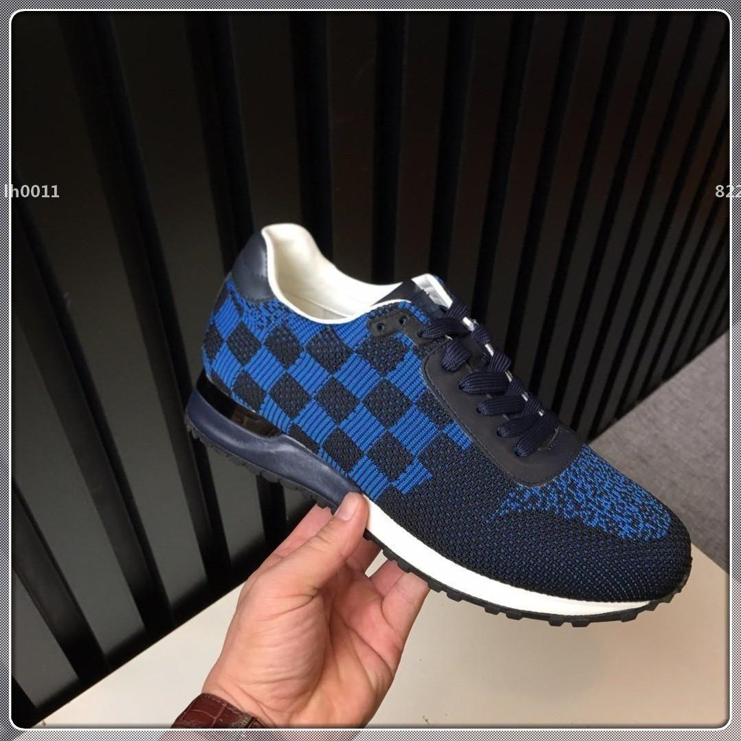 designer de luxo Top Quality Luxo Homens sapatos de desporto Moda cair o navio Chegada Nova Lace-up High Top Men Marca Casual Sapatos