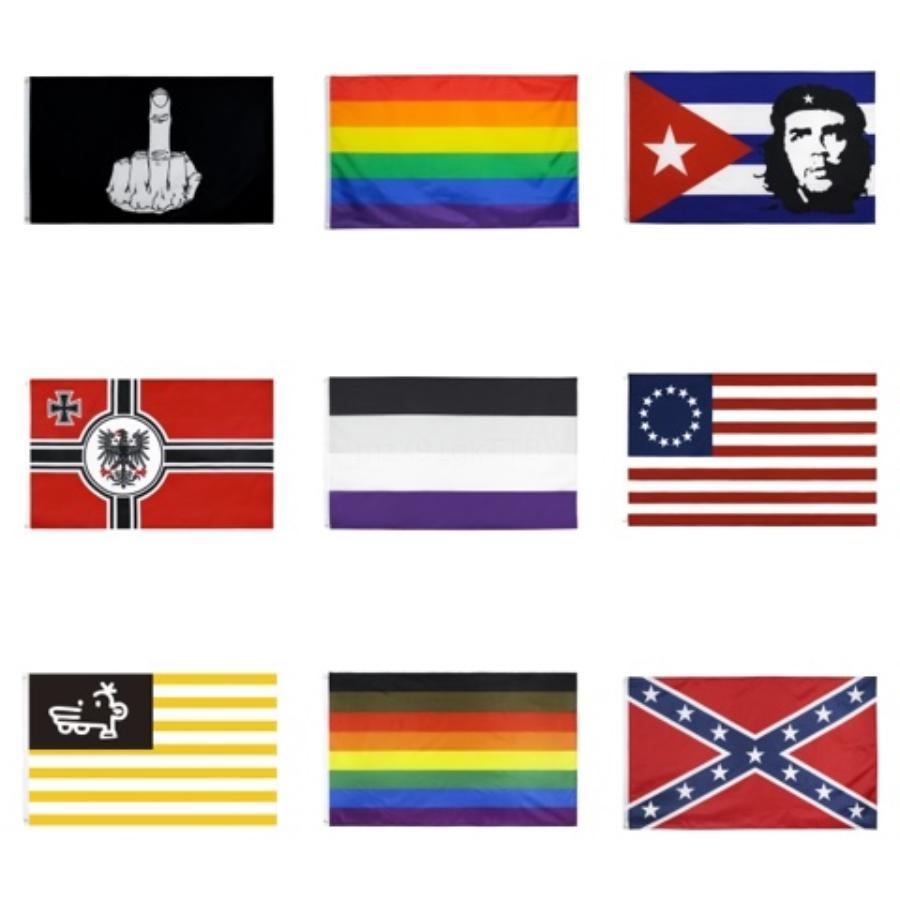 Toptan 2020 Trump Bayrağı 90 * 150cm Donald Trump Bayrak tutun Amerika Büyük Donald İçin Başkanı Kampanya Banner Bahçe Bayraklar DBC DH1031 # 191