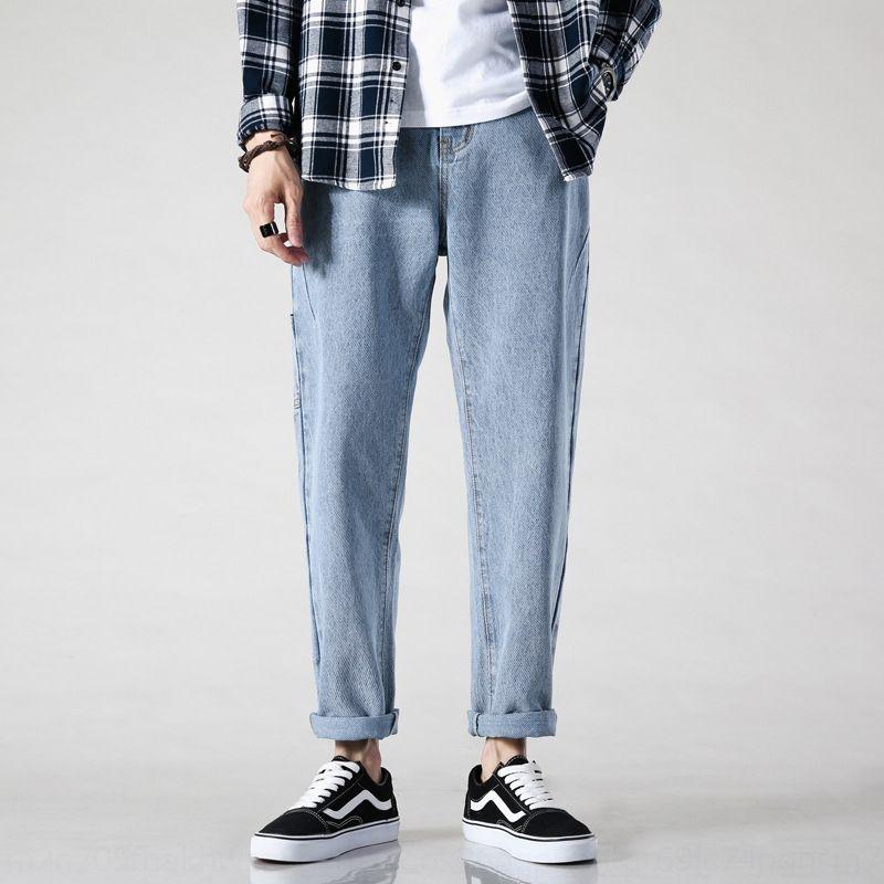 qD1eG xJUzu осень кулона мужской широкой ноги джинсы джинсы мода бренд свободной прямой кулон щиколотки брюки мыть мужские брюки широкой ноги папа