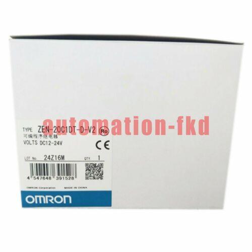 Nuevo en Box Omron Zen-20C1DT-D-V2 Módulo PLC ZEN20C1DTDV2 Un año de garantía