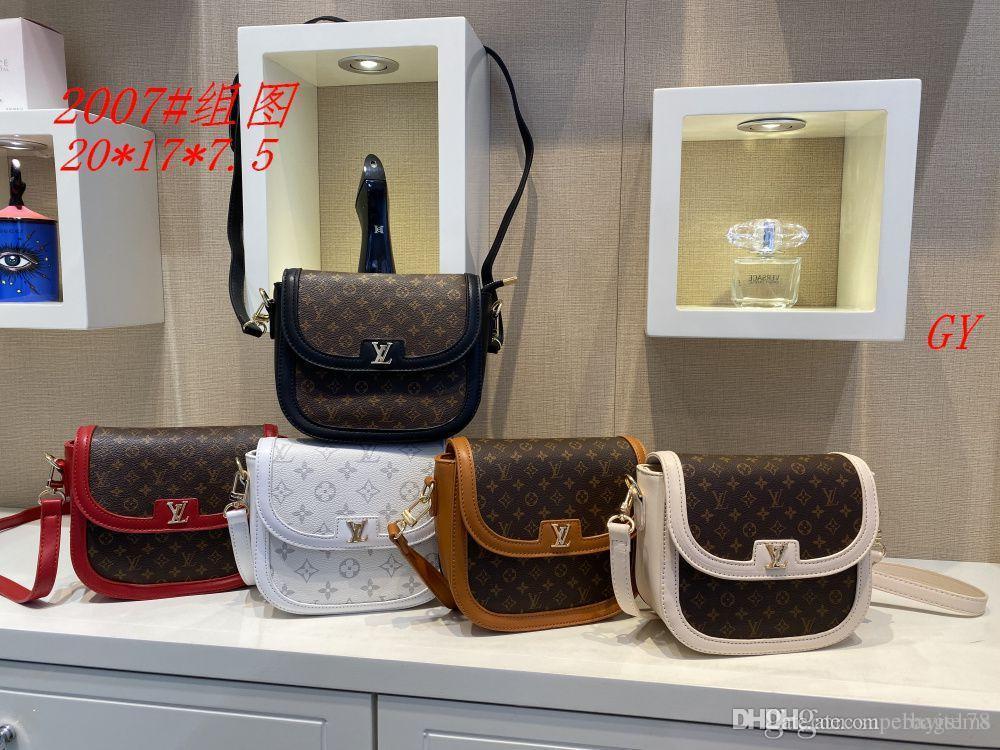 GGG GGG GY 2007 Mejor alta calidad del precio de las mujeres solas señoras de totalizador del bolso del morral del hombro del bolso del monedero