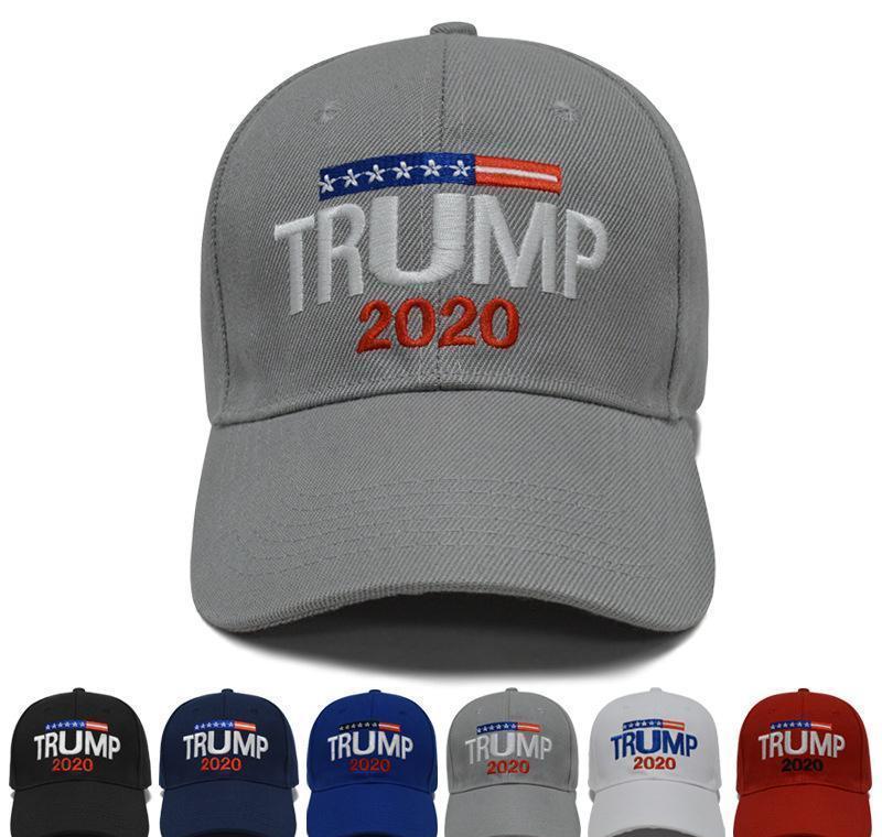 Casquillo bordado de los deportes al aire libre de verano Zza2117 ajustable del sombrero Sombreros: Béisbol Trump 2020 Estilos 6 3d wrhome EtNEu