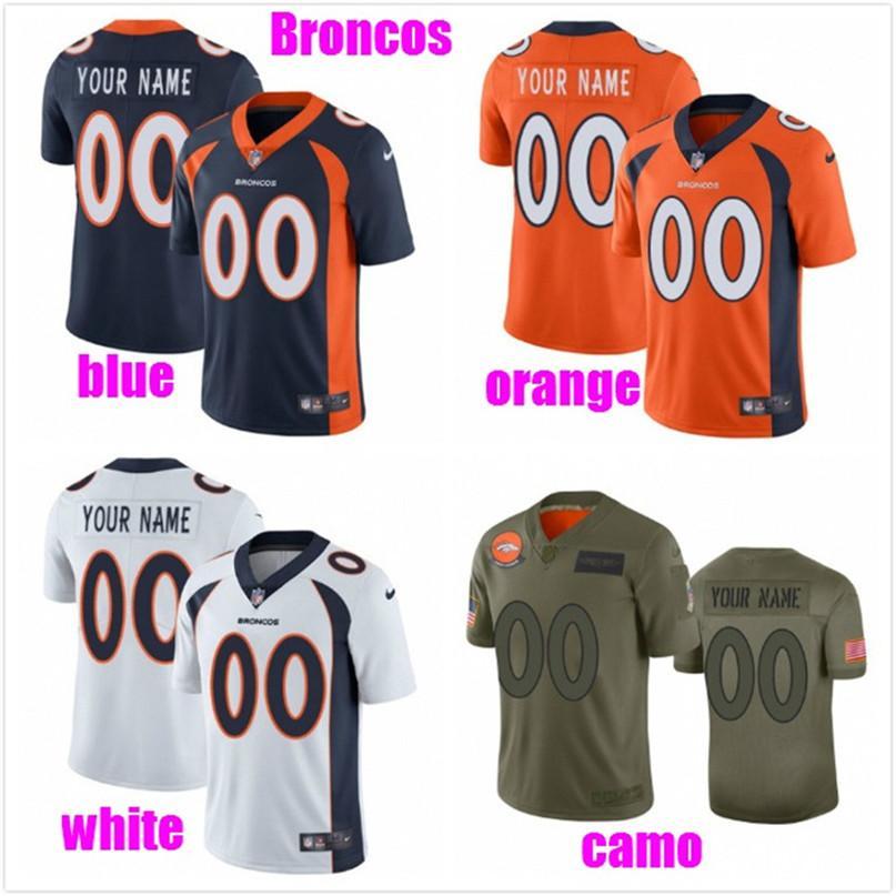 Coutume football américain Maillots pour femmes des hommes jeunes enfants personnalisés Kits authentiques maillot de football de baseball Couleur orange 4XL 5XL 6XL