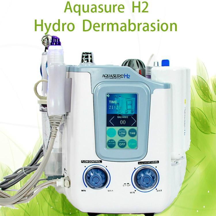 2020 3 salon ve ev için 1 hydrafacial AquaSure H2 Derin temizleyici Ultrasonik Portatif makinede