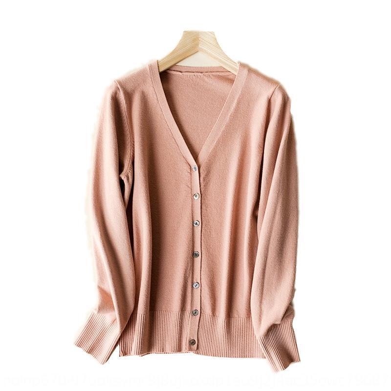 BSNaS 19 nuova primavera autunno a maniche lunghe cardigan a maglia delle donne e l'inverno breve stile coreano scialle esterno aderente maglione maglione cappotto larg