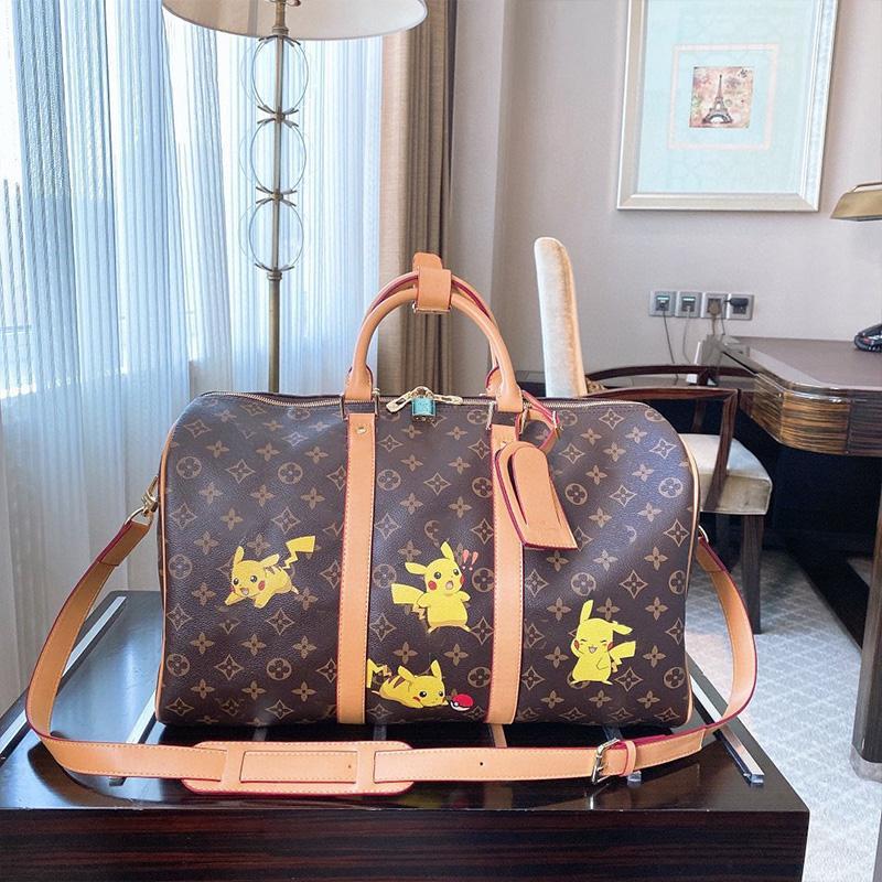 Duffel Bag Big Grande Casual armazenamento Homens Mulheres Travel Bag Hangbag Duffel sacos de bagagem Sacos de Viagem clássico bagagem Handbag