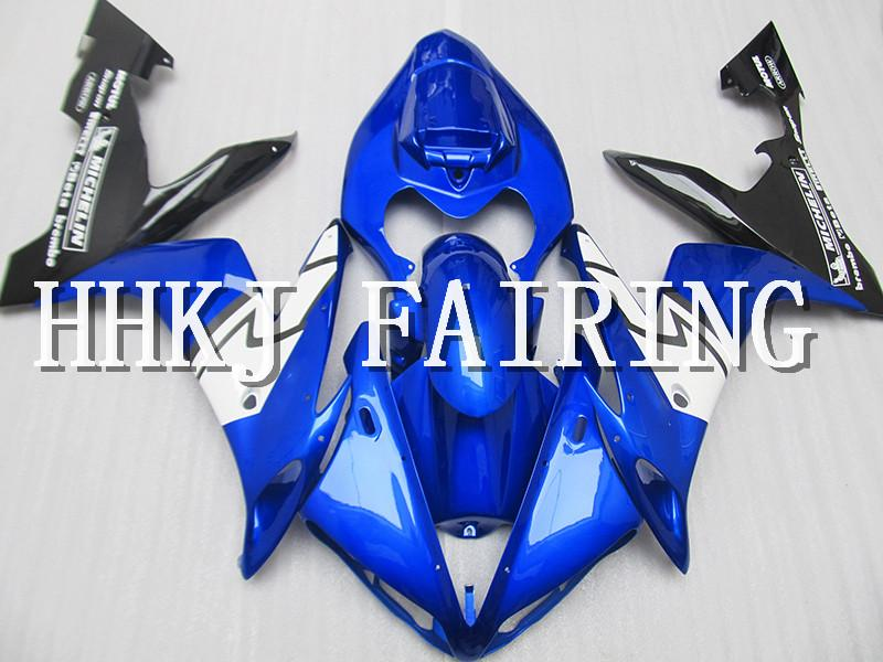 Moto in plastica ABS carene Fit Kit Per Yamaha YZF R1 2004 2005 2006 Injection Molding motore Moto Hull carenatura HC693