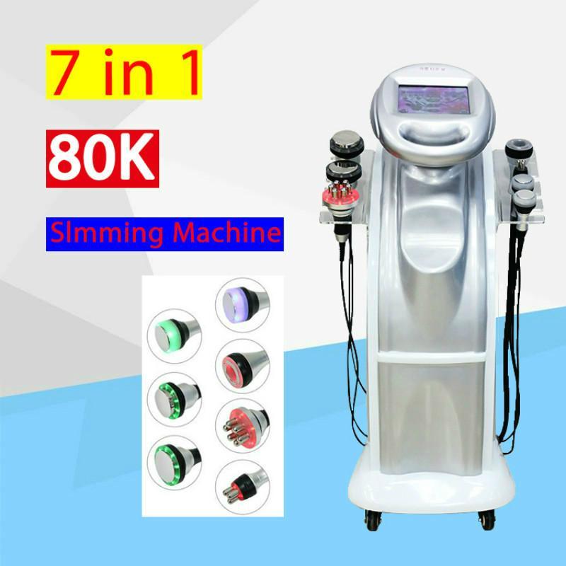 2020 superventas 80K cavitación ultrasónica RF Lipo cavitación de vacío de pérdida de peso corporal adelgazante máquina de la belleza del envío libre y libre de impuestos