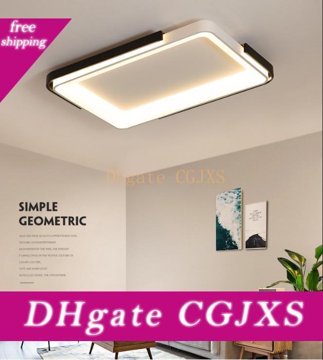 Nouvelle Acrylique gradateurs Lumières de plafond pour la vie Studyroom Chambre Maison AC85 décembre Modern Plafonnier Led Lampe de plafond Deco Llfa