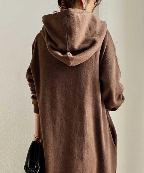 Bto8F 2020 Nouveau printemps Top automne et manteau de couleur du haut chandail manteau de chandail des femmes occasionnels super long solide cardigan lâche de la mode