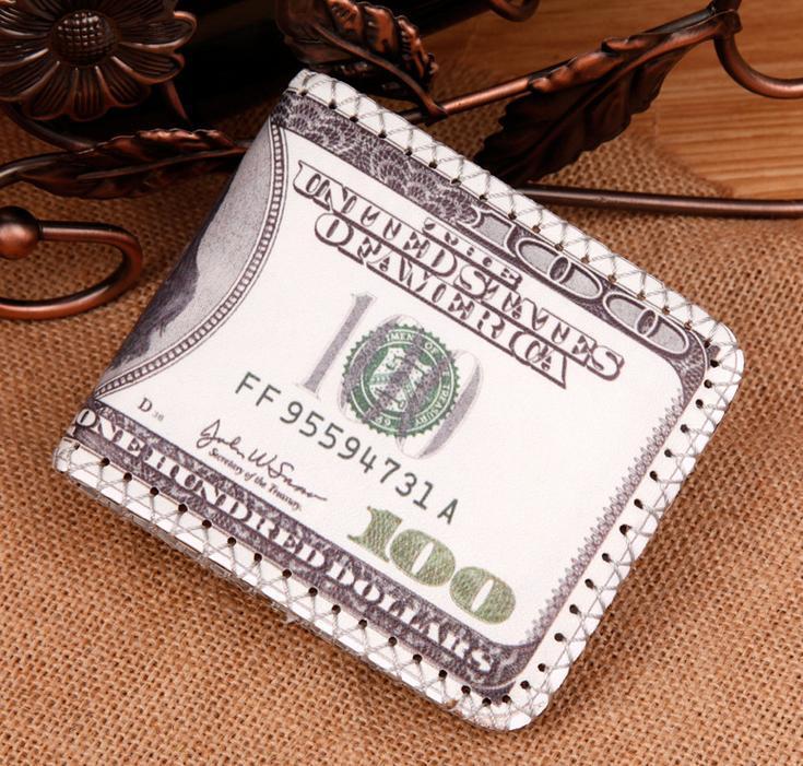 Klassische Mode heiße Verkaufs-Designqualität der Männer-Kunstleder-Mappen-Kreditkarteninhaber Geldbeutel-Mappen für Männer freies Verschiffen