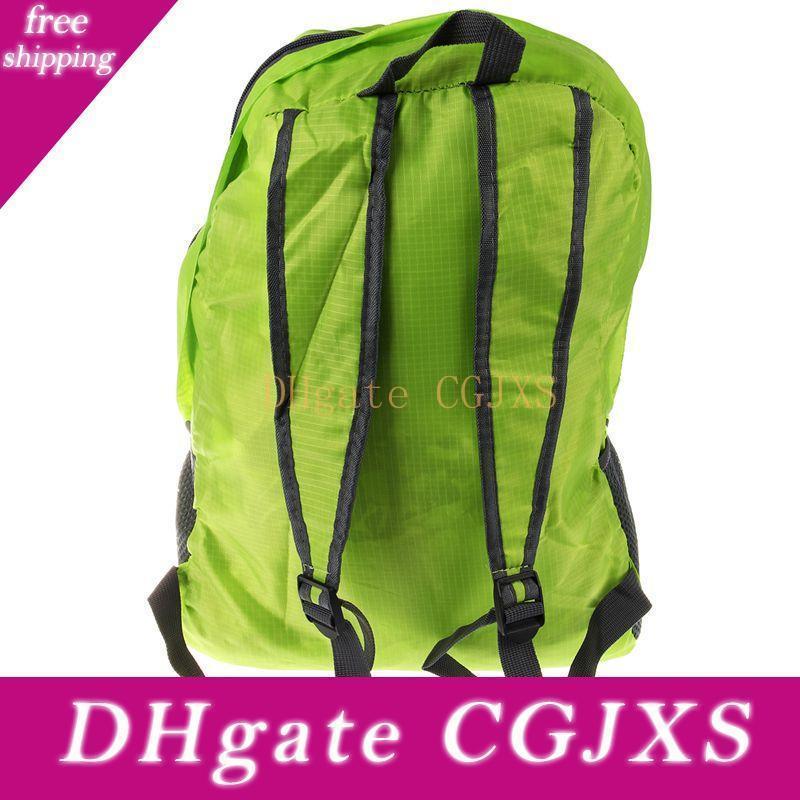 Leichte faltbare Wasserdichtes Nylon Frauen Männer Skin Pack Rucksack 20l Reisen Outdoor Sports Camping Wandern Rucksack Tasche
