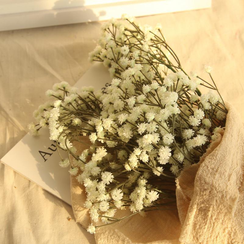 oturma odası ev partisi ofis masa Centerpieces için 65cm yapay çiçek babysbreath simülasyon çiçek düğün dekorasyon