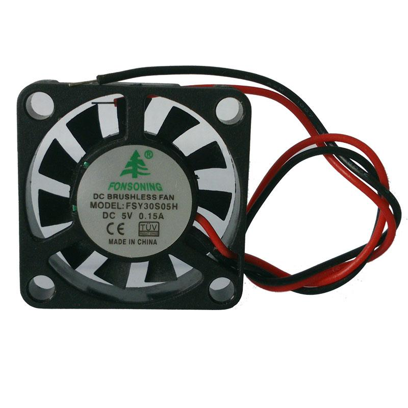 Nueva FSY30S05H 3007 pequeño ventilador DC DC 5V S de aceite 3 cm 3 cm del ventilador 30X30X07MM