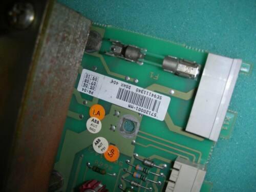Um PC ABB DCS DSAX404 / DSAX404 / 57120001-MN (DSAX452 intraplaca)