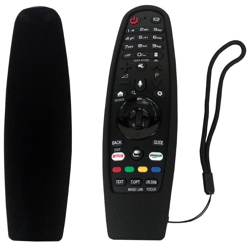 Controladores Remotos Caso de Controle de Silicone para LG Smart Magic Protector Cobertura à prova de choque An-MR650A An-Mr18ba AM-HR600 AM-HR650A
