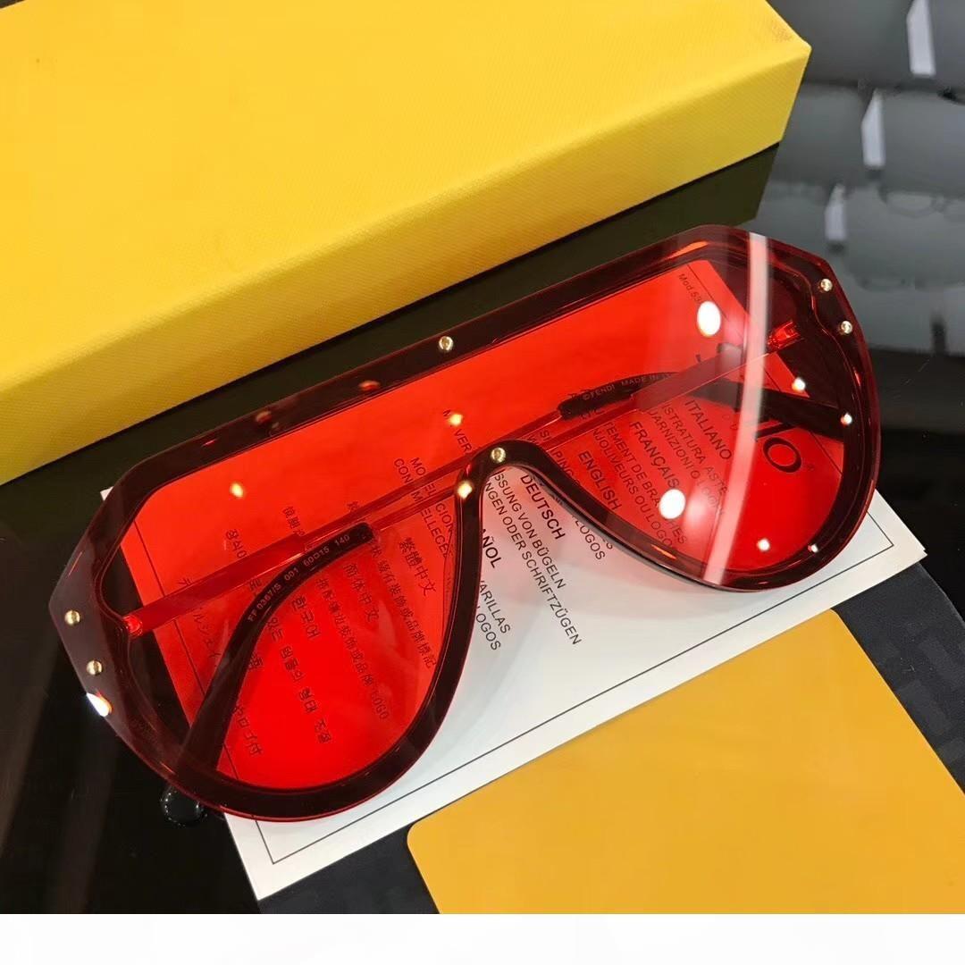 occhiali da sole firmati per occhiali da sole degli uomini di lusso per i vetri le donne gli uomini di sole donne mens di marca del progettista occhiali da sole da uomo Oculos de fd0367