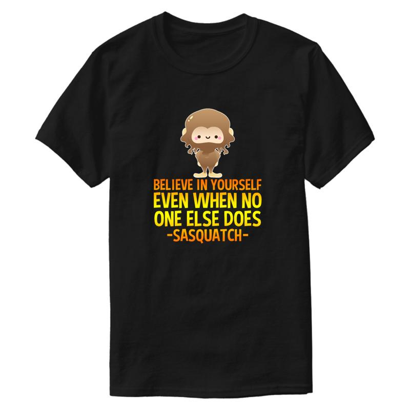 Tshirt nuovo modo comodo Big Foot Sasquatch maglietta 2020 Abbigliamento Lettera Uomo Impressionante Antirughe Hiphop Top