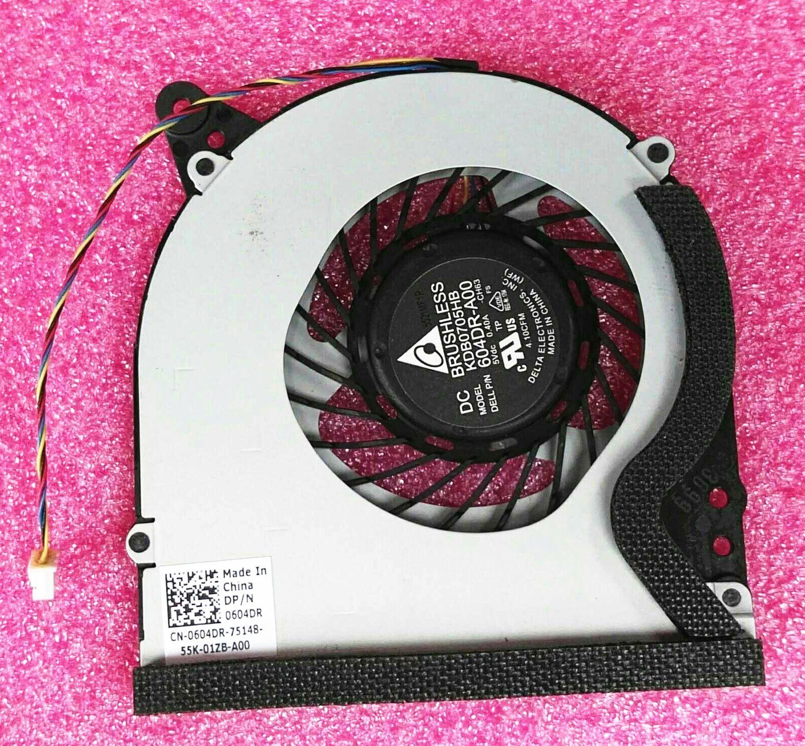 Nuovo ventilatore del CPU del PC Cooler per notebook per Dell XPS18 (1810) 0604DR 604dr-A00 kdb0705hb-CH63
