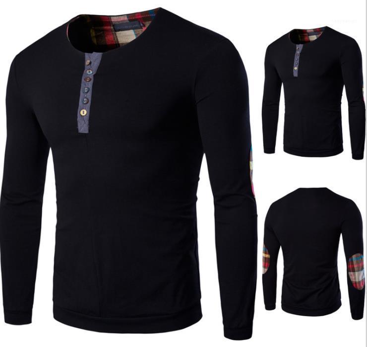 Kleidung Täfelte Herren Designer Pullover Warm Multicolor Buttons Mens Mode Pullover Casual Pullover Crew Neck Männlich