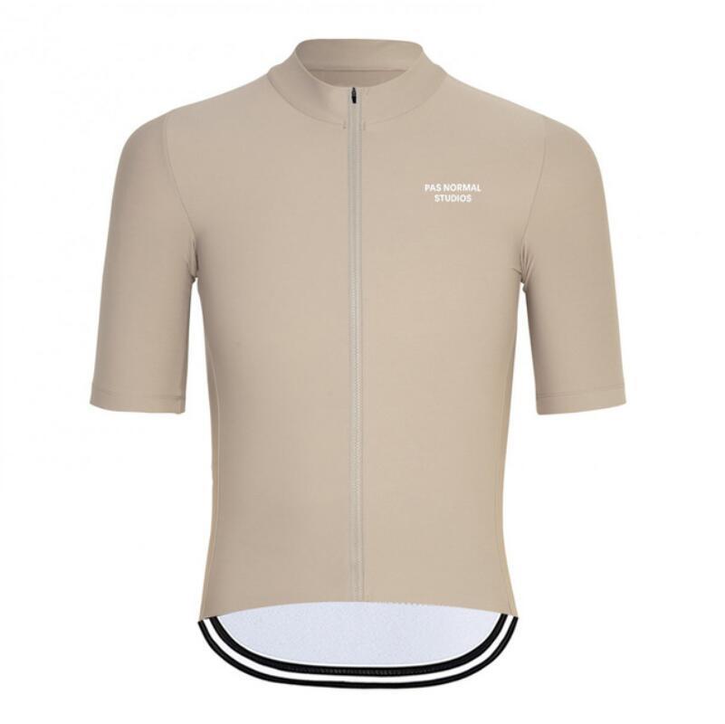 2020 PNS para hombre verano de manga corta ciclismo Jersey MTB practicar deporte de secado rápido de la bicicleta de vestir de las tapas desgaste de silicona antideslizante