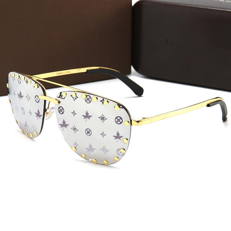 Luxus-Oval Pilot-Sonnenbrille-Frauen 2020 Vintage-Gothic Punk-Gläser Männer Oculos Feminino Sunglass Lentes Gafas De Sol LJ200827