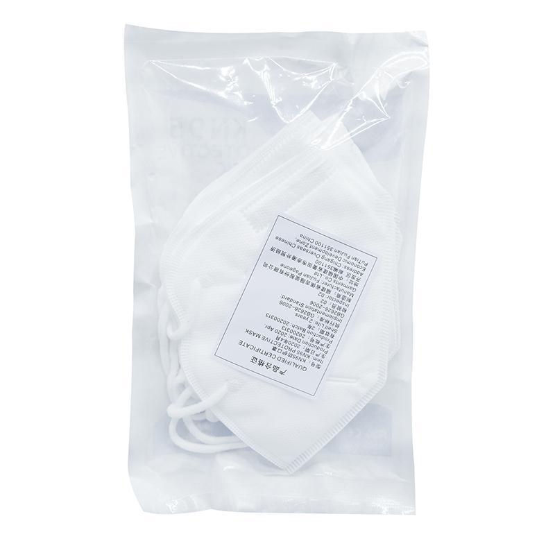 KN95 masque filtre anti-voile anti-goutte anti-bactérien respirateur repèrent des masques de mode N95 étanche à la poussière masque de protection perméable à l'air