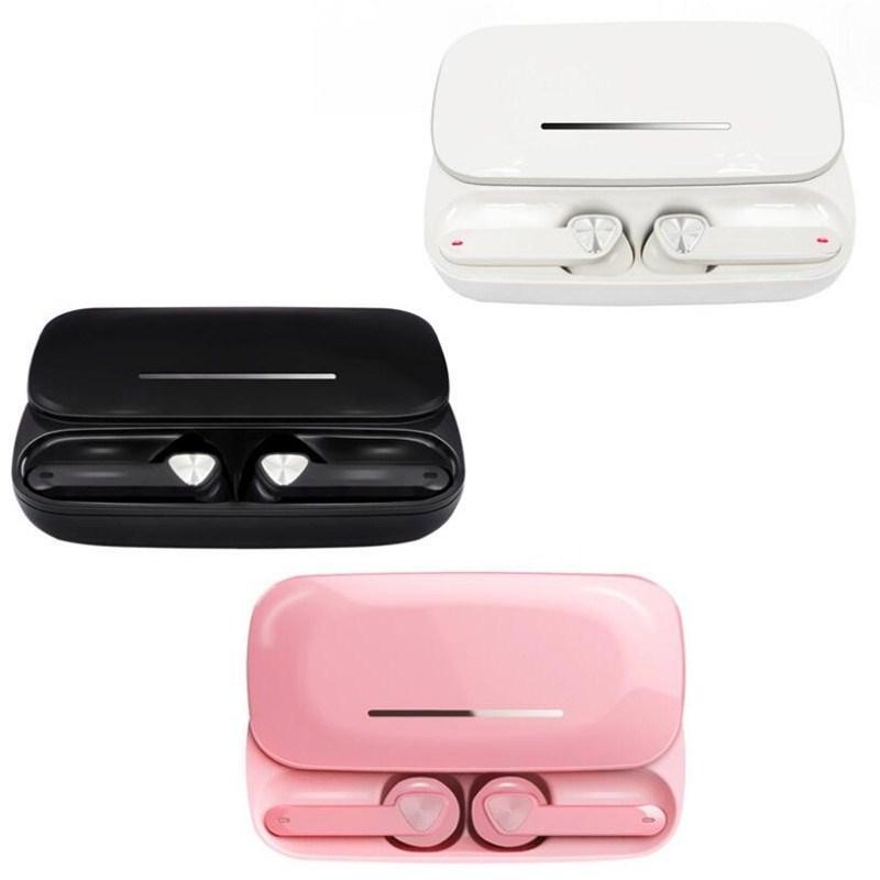 cgjxs Be36 стерео канала с шумоподавлением Mini Эргономичный В ухо зарядки Box двойной микрофон беспроводные наушники Bluetooth 5 +0,0