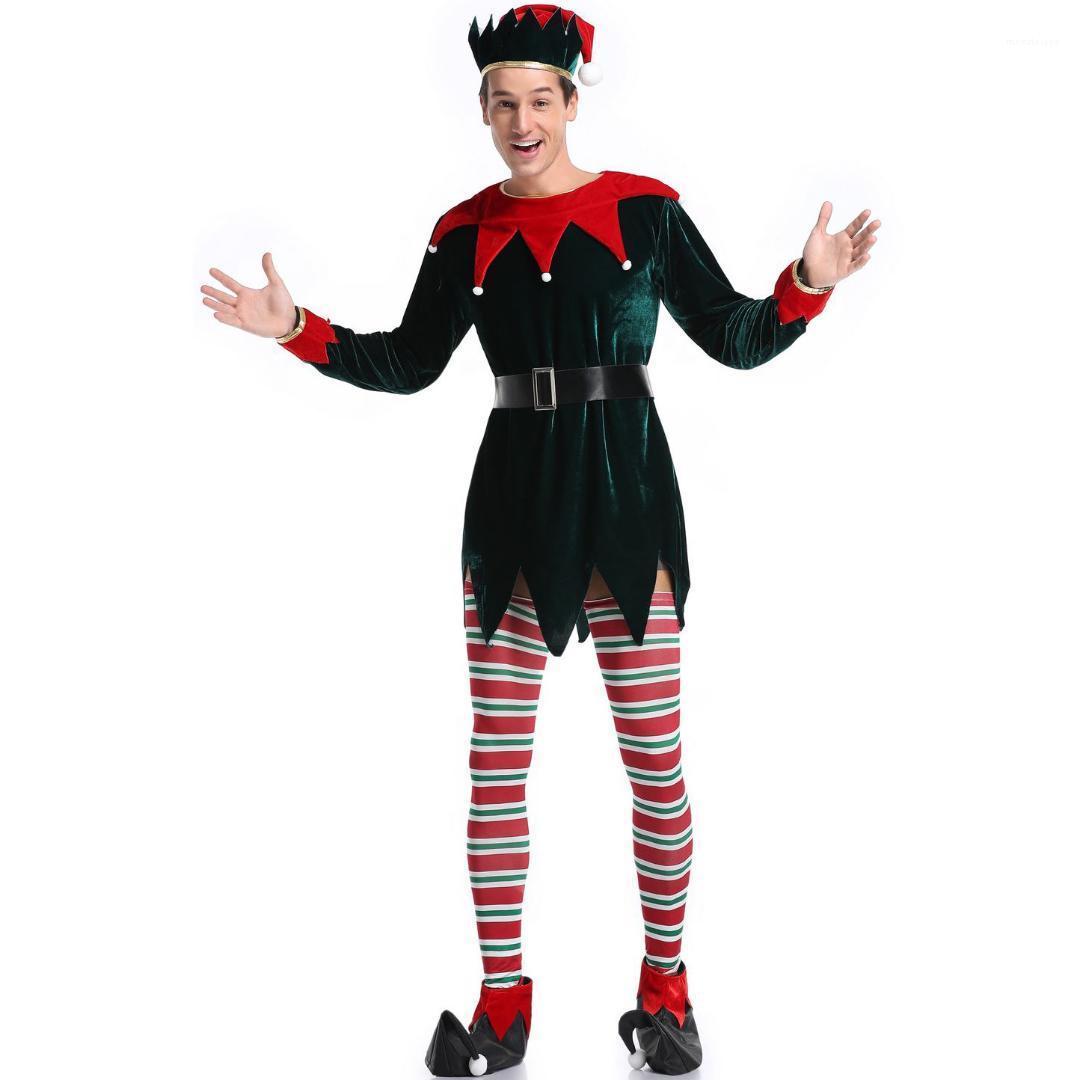 Vêtements Cosplay hommes Vêtements Festival de Mode Hommes Costumes de Noël de vacances Party Man annuel Scène Performances Thème