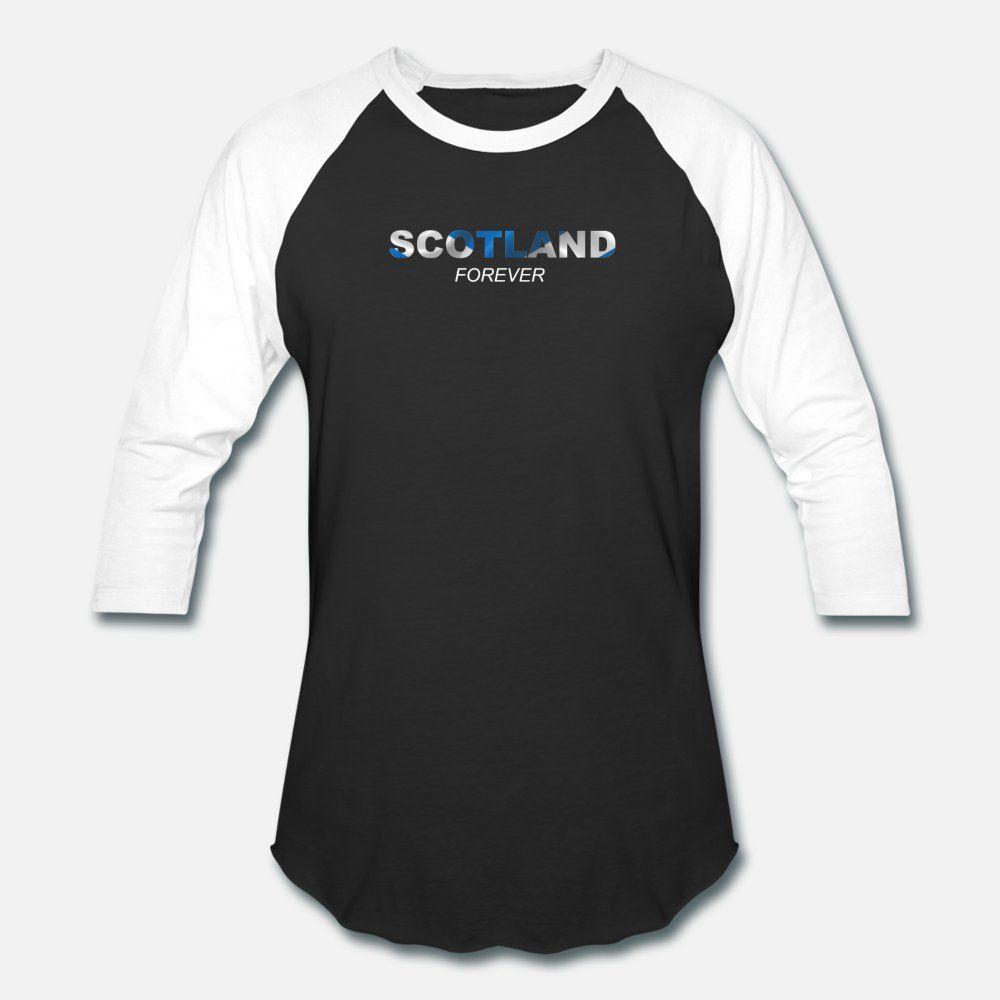 Escocia hombres de la camiseta Diseño de la camiseta del O-Cuello homme Camisa formal Estilo ocasional del verano lindo