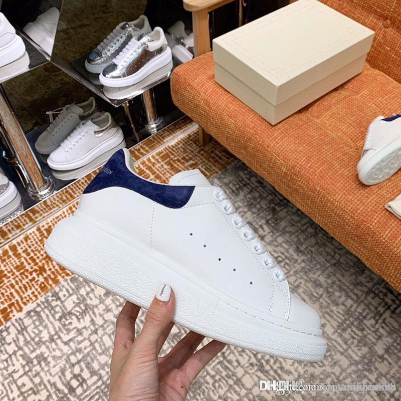 chaussures de sport de luxe 2020 nouveaux hommes chaussures habillées de haute qualité chaussures de tennis de Mocassins occasionnels Hommes Pour les hommes et les femmes de 35-45 avec boîte