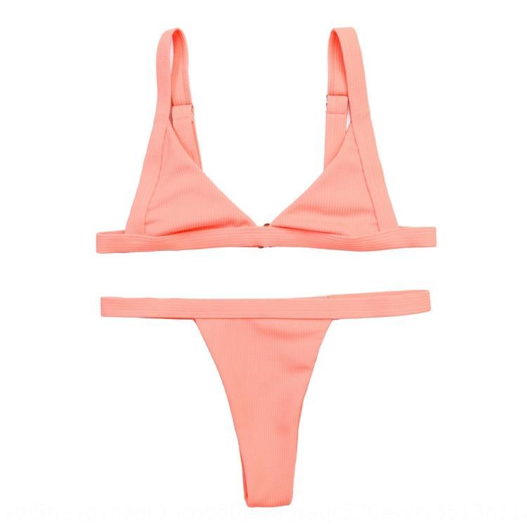 Nueva delgado ajuste cómodo ajustable de siete colores dividida nueva ajuste cómodo delgado ajustable de siete colores del bikini división del bikini
