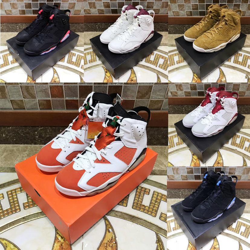 2020 Kızılötesi 3M Yansıtıcı Bugs Bunny Tinker Hatfield UNC Oreo Erkekler Spor Spor ayakkabılar Eğitmenler ABD 07-13 Haziran 6s Erkekler Basketbol Ayakkabı Bred