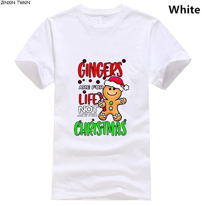 Gengibres são para T Shirt Vida presente das mulheres dos homens da novidade Funny Man Xmas 2864 camiseta alta qualidade de impressão Casual