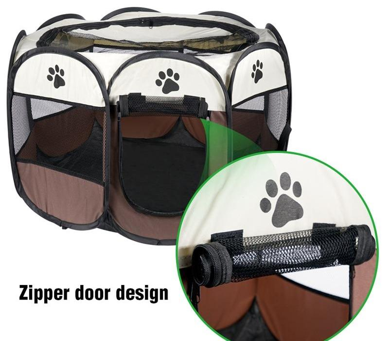 Cat Tent House For Pet Dog Cage Outdoor Kennel Nest Park Fence Playpen Perch Shelf for Puppy Kitten Small Medium Dogs Pet08