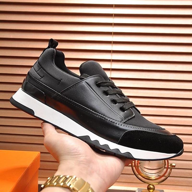 Novos 2020 Esportes sapatos para homens Luxo respirável Lace -Up Moda Masculina Sneakers Zapatos Para Hombre Homens calçados casuais Luxo Estádio Sneaker