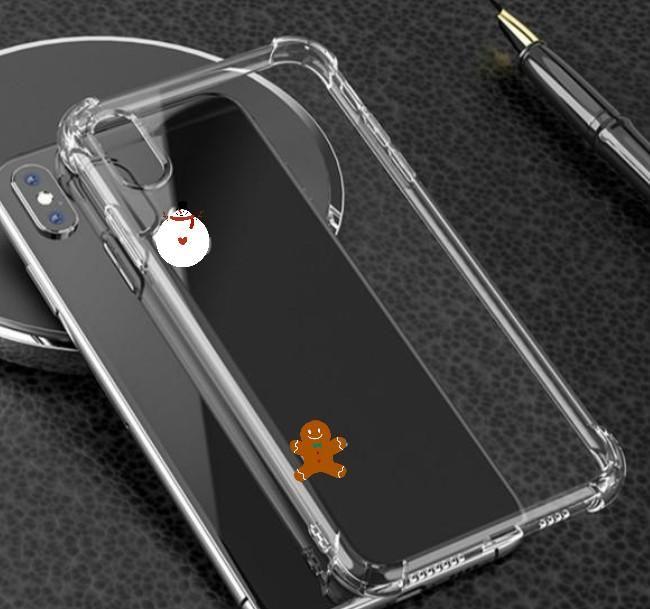 TPU de proteção transparente Macio Casos de telefone tampa traseira Capa à prova de choque Armadura caso claro de IP X 8 7 6 6s Além disso,