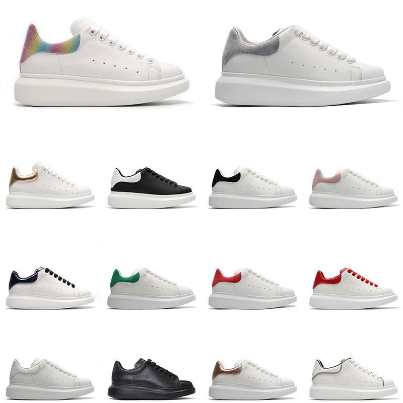 new outdoor chaussures men women platform shoes fashion sneakers triple black white pink suede leather mens trainers jogging walking