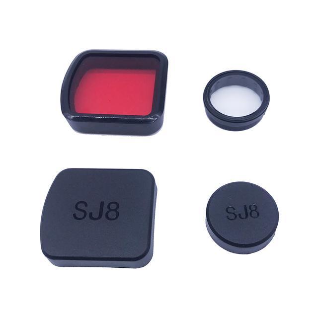 Consumer Electronics UV Filter Glass Lens + Lens + Housing Case Cover Protective Cover + Dive Filter For SJCAM SJ8