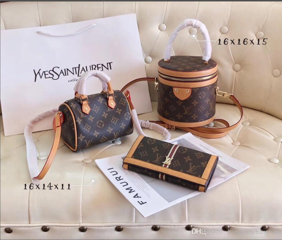 Hot Luxury Venda 2020 Pillow Saco Grande Capacidade de três peças Bolsa de Ombro Messenger Bag Mulheres Backpack
