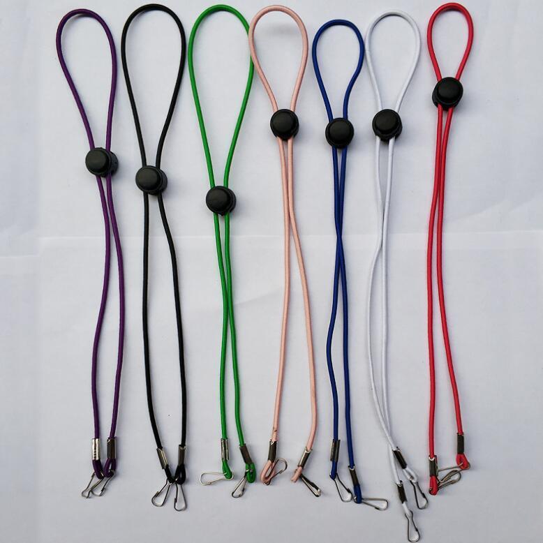 500PCS قناع RestEar حبل حامل قابل للتعديل المعلقة الرقبة قناع حماية الحبل