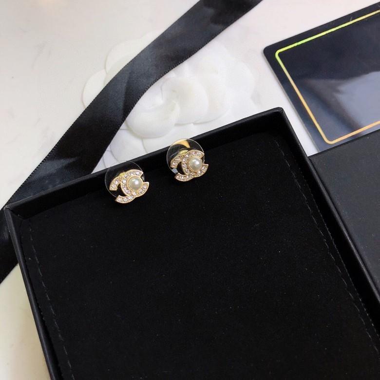 Новое письмо полные алмазов и жемчуг дизайнерские серьги Seiko все спички серег