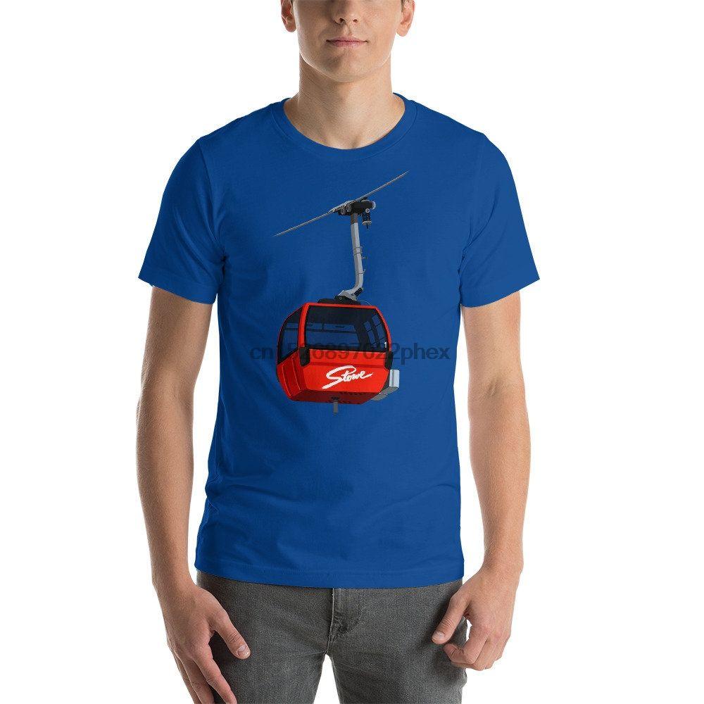 Stowe estación de esquí de manga corta camiseta unisex camiseta de los hombres