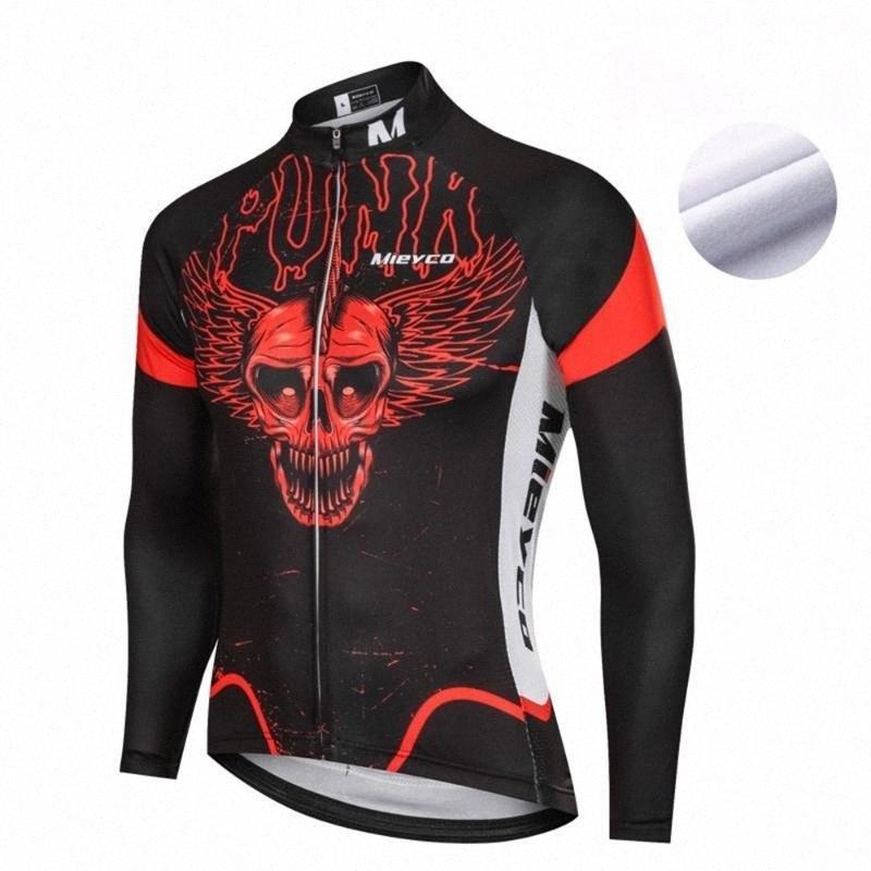 Shirt Mieyco VELLO TERMICO Cycling Jersey Uomini squadra Pro manica lunga MTB vestiti della bicicletta Ropa Ciclismo Maillot Bike Tops dk3K #