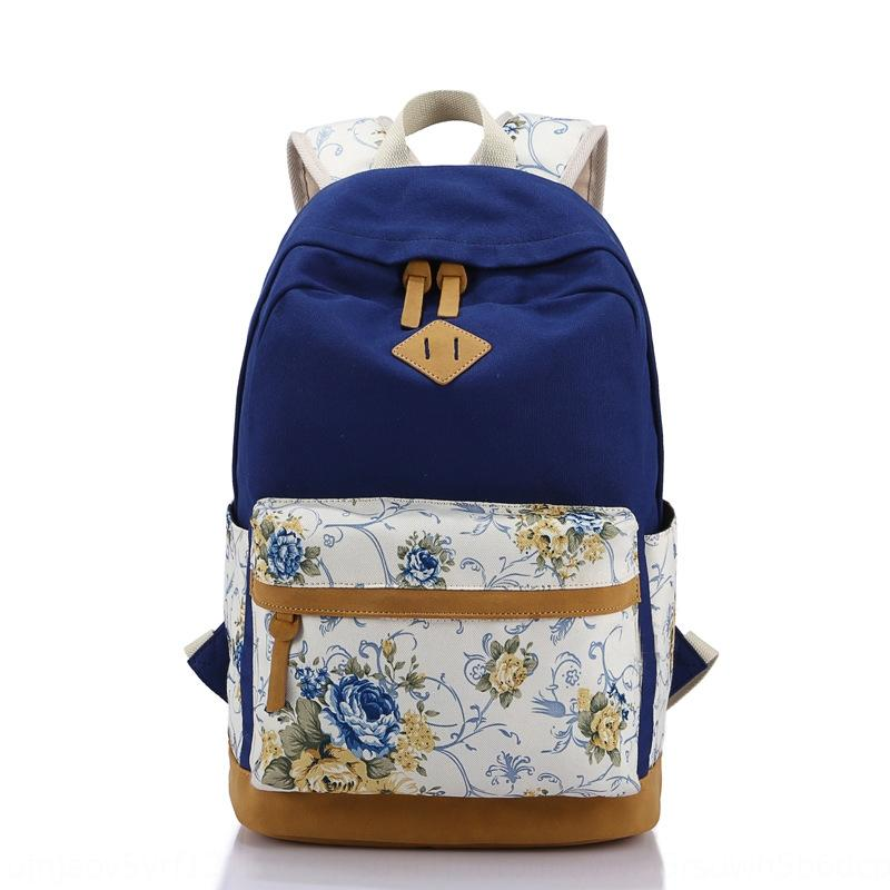 feminino alta de viagem mochila escolar mochila bordados étnicos floral estilo coreano lazer saco de viagem mochila ao ar livre