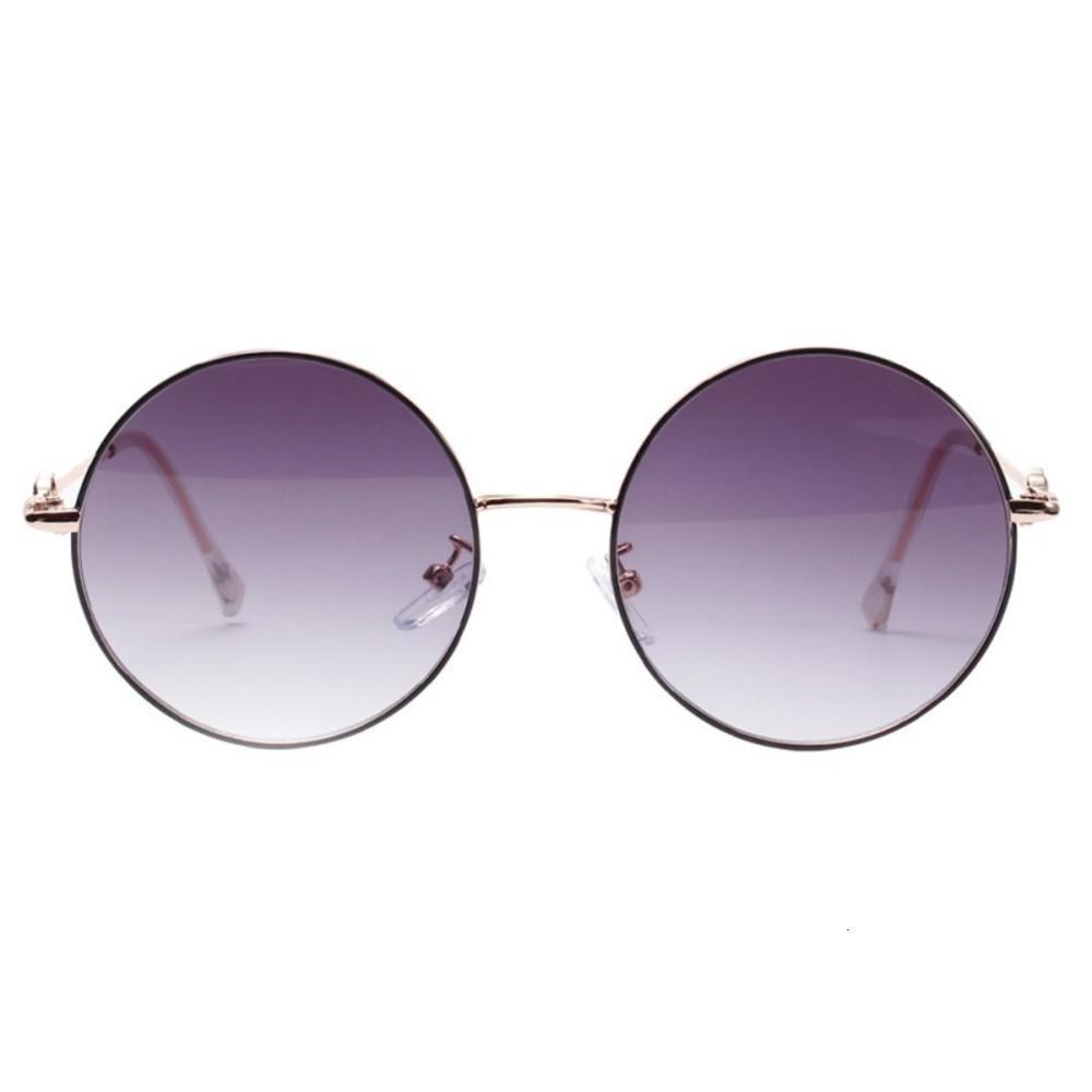 Occhiali da sole di guida specchi d'epoca per le donne piatto obiettivo riflettente Occhiali da sole femminile 2020 Nuovo Ovale Lega adulti WEIXINBUY 0L81