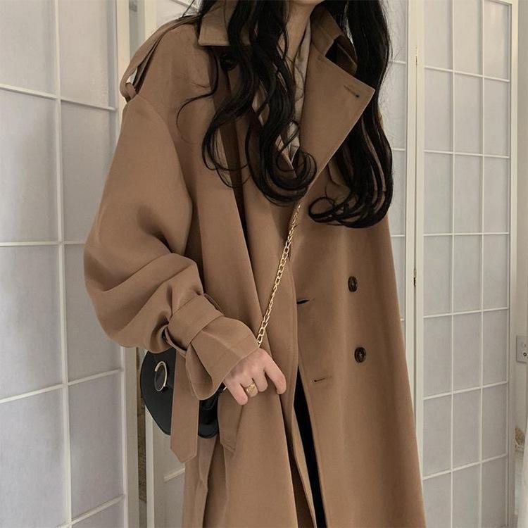 F0tp9 JkbdS Bahar orta boy WINDBREAKER rüzgarlık Sonbahar sonbahar 2020 internet ünlü için palto Koreli tarzı İngiliz ve stil ins